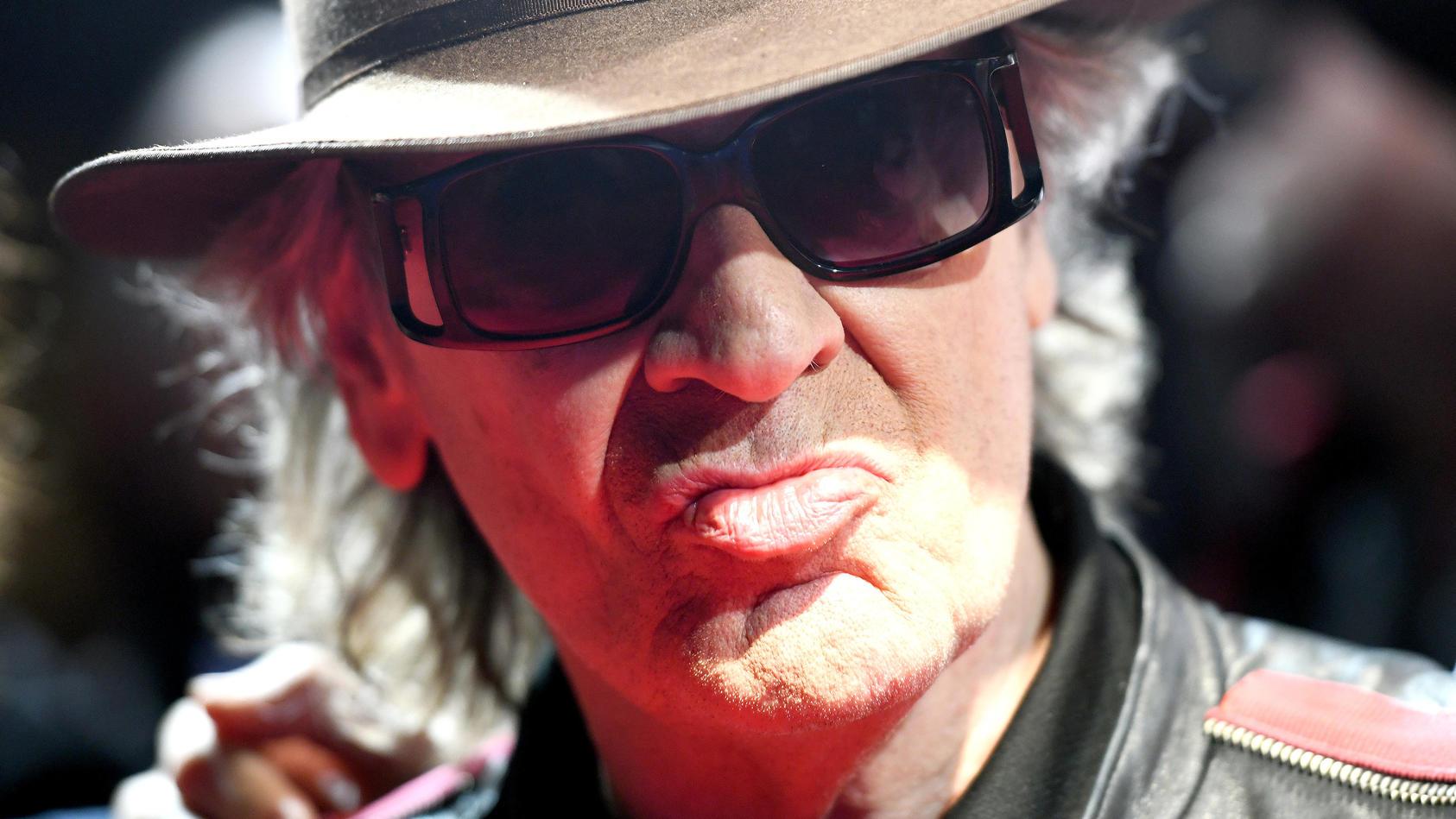 Udo Lindenberg ruft zur Demo auf.