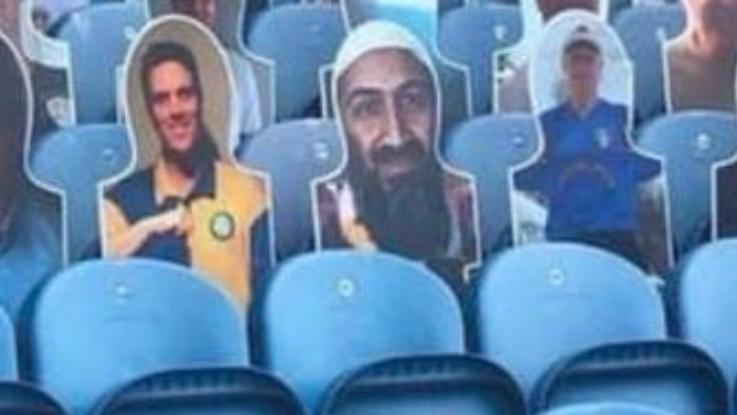 Bin Laden bei Leeds United im Stadion