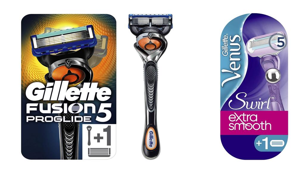 Nassrasierer Gillette Fusion5 ProGlide, Venus Extra Smooth Swirl.
