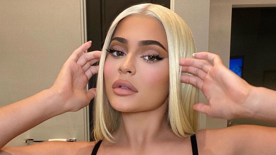 Kylie Jenner ist erst seit wenigen Tagen platinblond
