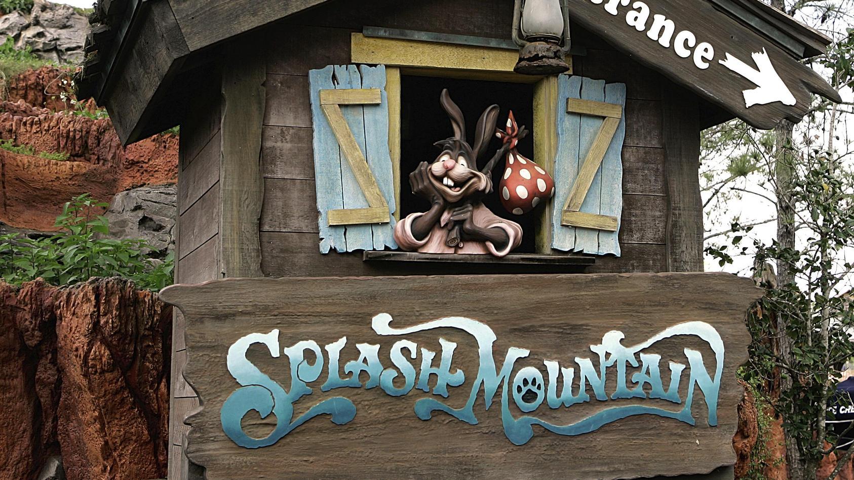 """Die """"Splash-Mountain""""-Themenwelt in Disneyland ist bald Geschichte"""