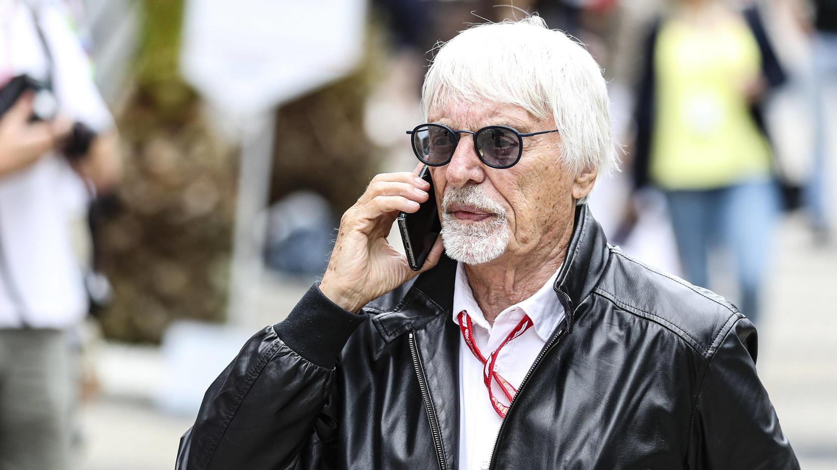 Motorsports: FIA Formula One World Championship, WM, Weltmeisterschaft 2019, Grand Prix of Russia, Bernie Ecclestone (G