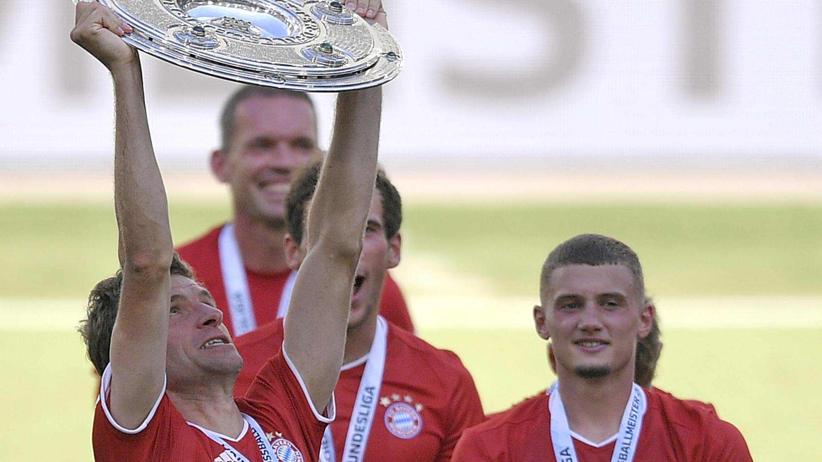 """Thomas Müller: """"Die emotionalste Meisterschaft meiner Karriere"""""""