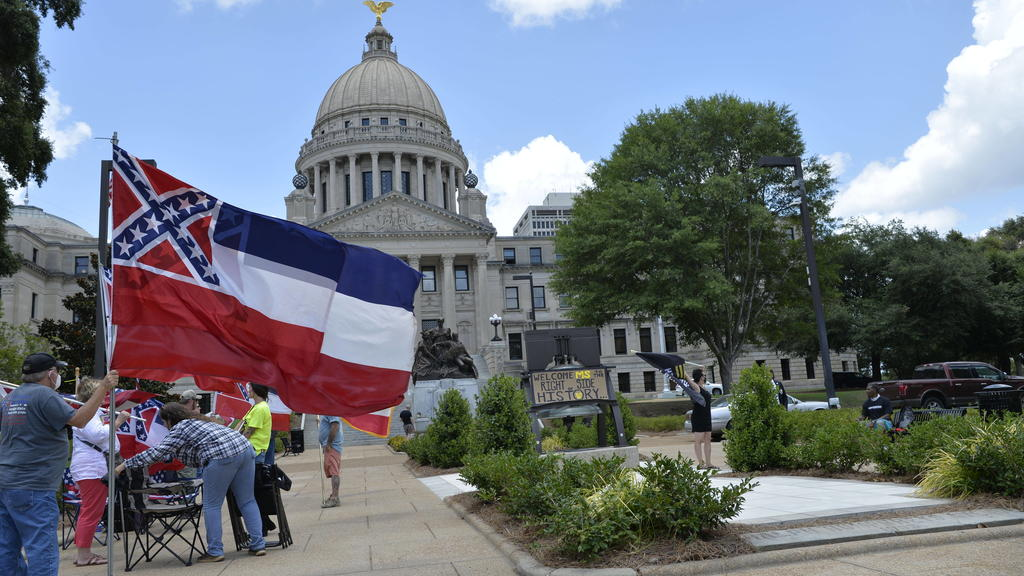 June 28, 2020, Jackson, Mississippi, USA: 6/28/2020 Jackson MS. .The Mississippi State legislators gathered at the State Capitol Sunday for a historic vote on HB1796. The MS House of Representatives passed the Bill91-23 and the MS Senate voted 31-14