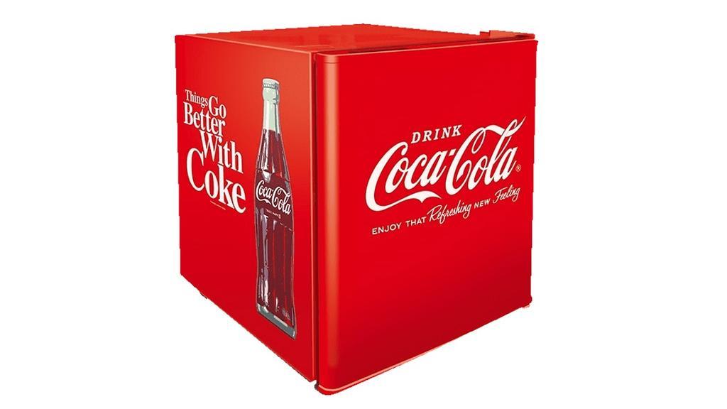 Coca-Cola-Kühlschrank im Retrodesign