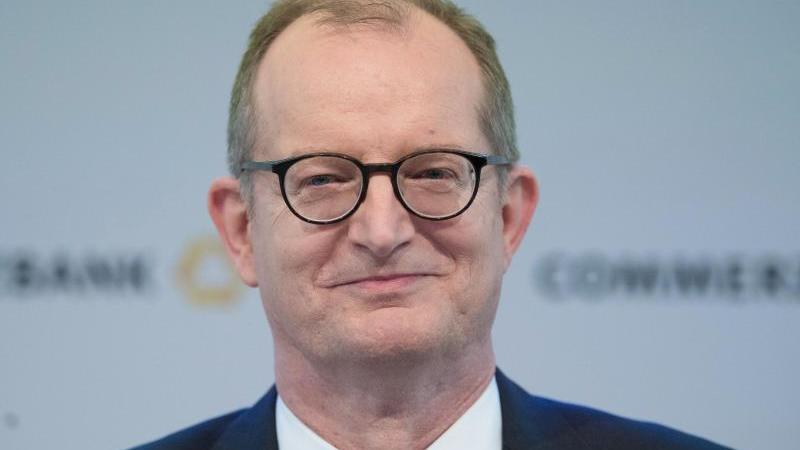 Martin Zielke, Vorstandschef der Commerzbank. Foto: Boris Roessler/dpa