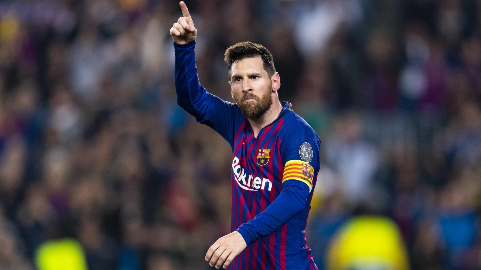 Messi trifft und trifft und trifft.