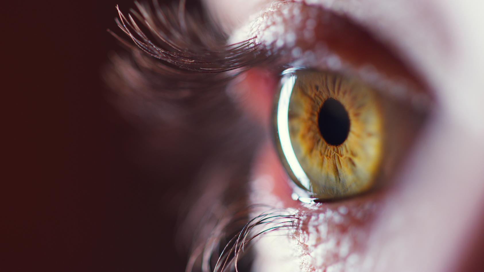 Kann rotes Licht die Sehkraft verbessern?