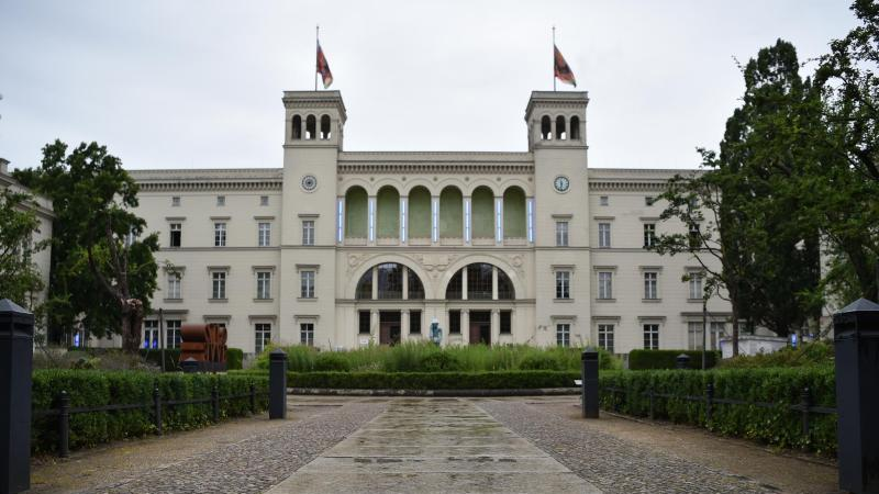 Blick auf das Museum Hamburger Bahnhof in Berlin. Foto: Sven Braun/dpa
