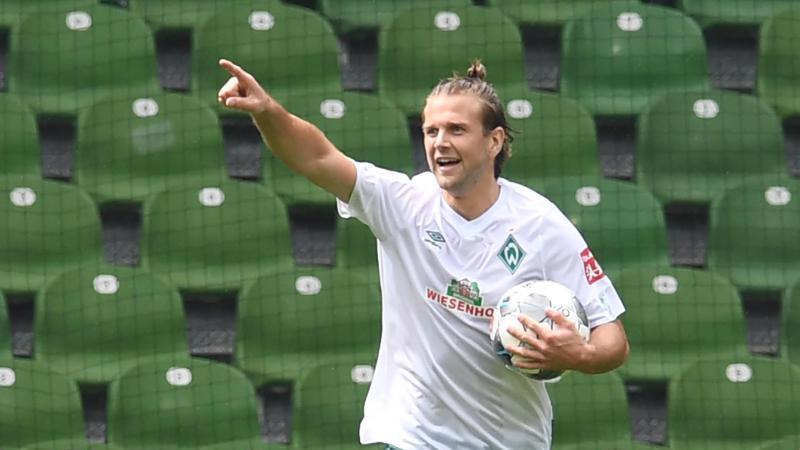 Soll für Werder die Tore schießen: Niclas Füllkrug. Foto: Carmen Jaspersen/dpa