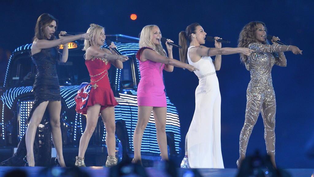 """Für die Olympischen Spiele feiern die """"Spice Girls"""" 2012 eine kurze Reunion."""
