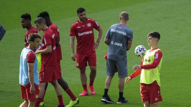 Steht beim Pokalfinale im Blickpunkt: Leverkusens Kai Havertz. Foto: Robert Michael/dpa-Zentralbild/dpa