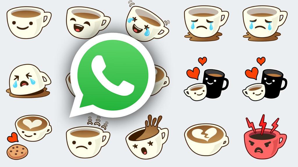 """Die süße Tasse """"Cuppy"""" ist eins der zwölf neuen Sticker-Sets bei Whatsapp."""