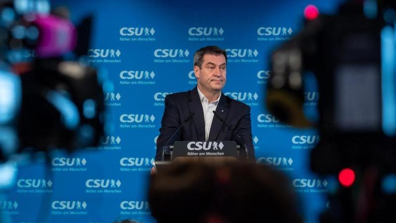 Markus Söder, CSU-Parteivorsitzender und Ministerpräsident von Bayern. Foto: Peter Kneffel/dpa/Archivbild