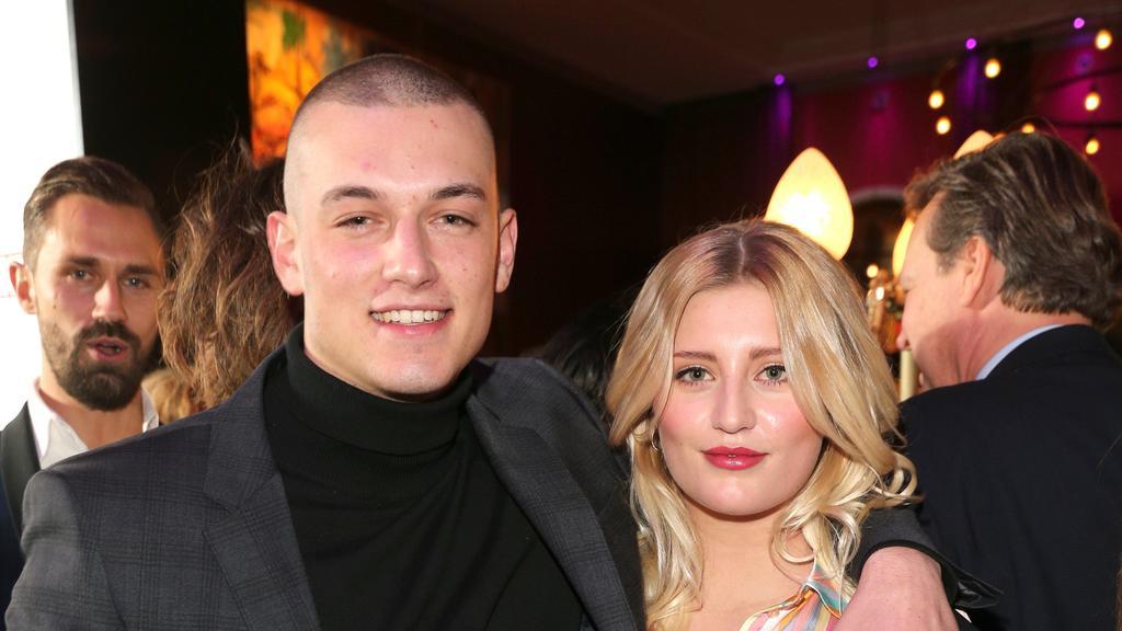 Marvin Balletshofer und Luna Schweiger waren 2017 ein Paar.