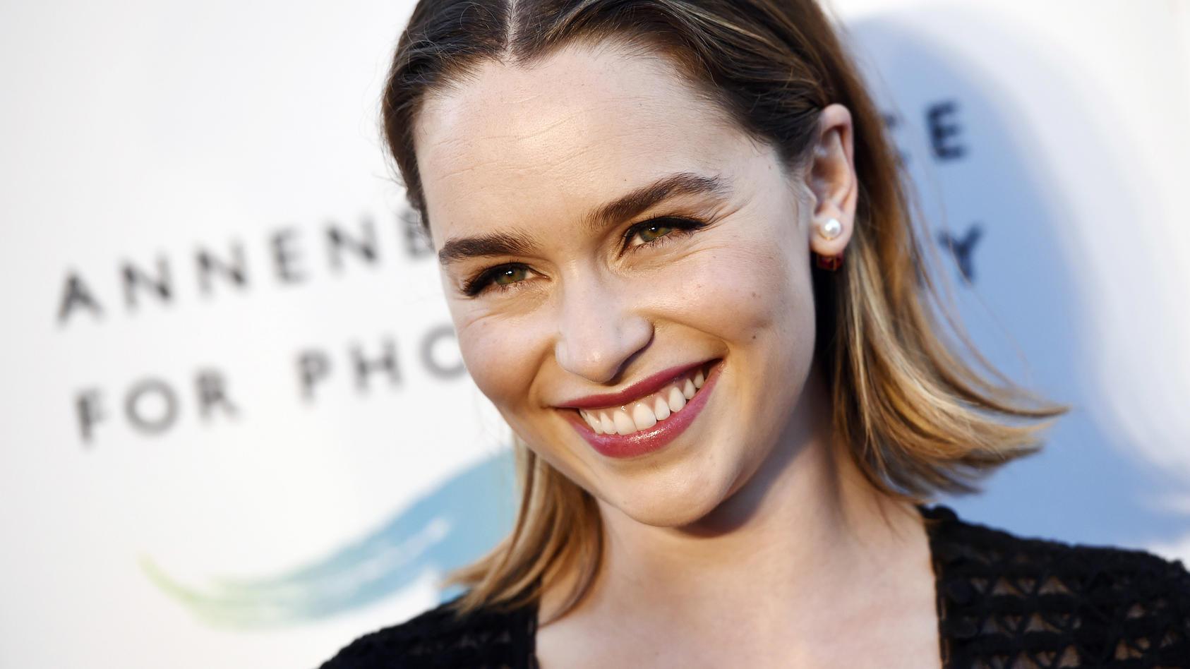 "Emilia Clarke dankt dem Personal des ""National Health Service"""