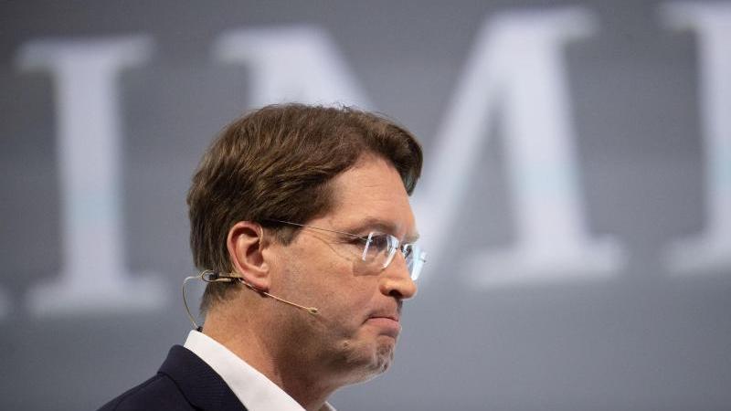 Ola Källenius, der Vorstandsvorsitzende der Daimler AG. Foto: Marijan Murat/dpa/Archivbild
