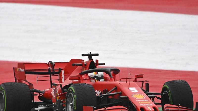 Will beim zweiten Rennen in Österreich Wiedergutmachung für seine Patzer zum Start betreiben: Sebastian Vettel. Foto: Joe Klamar/Pool AFP/AP/dpa