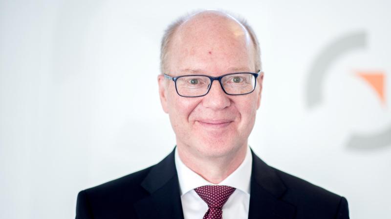 Heinz Jörg Fuhrmann, Vorstandsvorsitzender der Salzgitter AG. Foto: Hauke-Christian Dittrich/dpa/archivbild