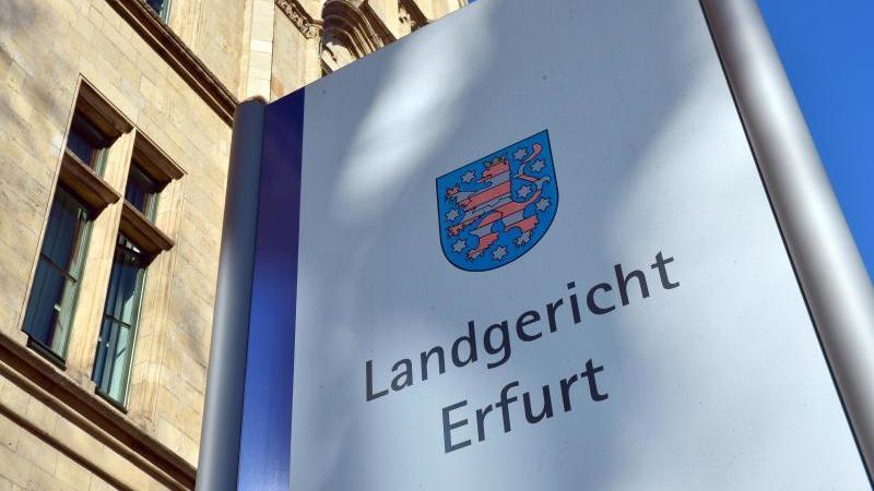 Das Landgericht Erfurt. Foto: Martin Schutt/dpa-Zentralbild/dpa/Archiv
