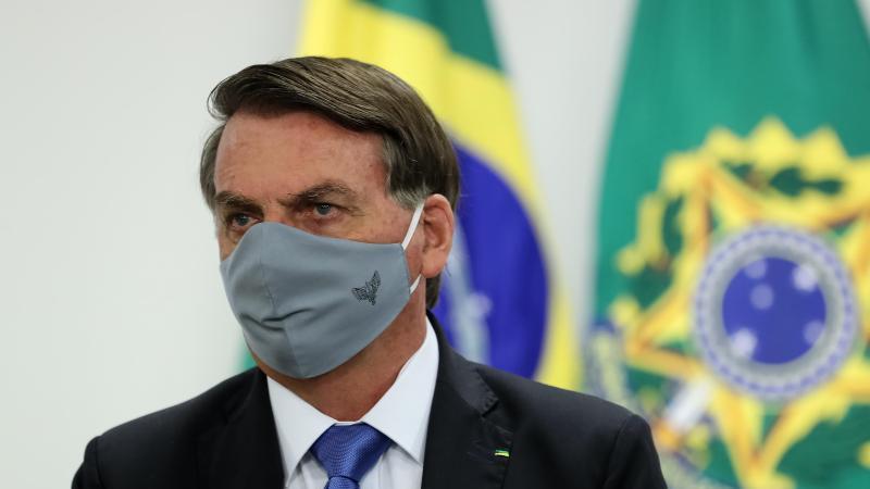 Jair Bolsonaro hat sich mit dem Coronavirus angesteckt (Archiv). Foto: Marcos Correa/Palacio Planalto/dpa
