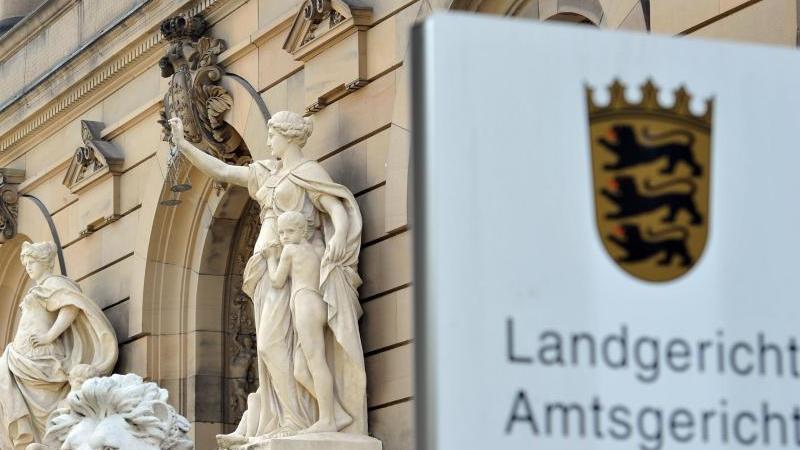 Das Gebäude des Amt- und Landgerichts. Foto: Stefan Puchner/dpa/Archivbild