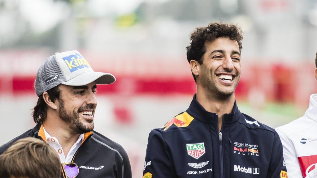 Fernando Alonso und Daniel Ricciardo