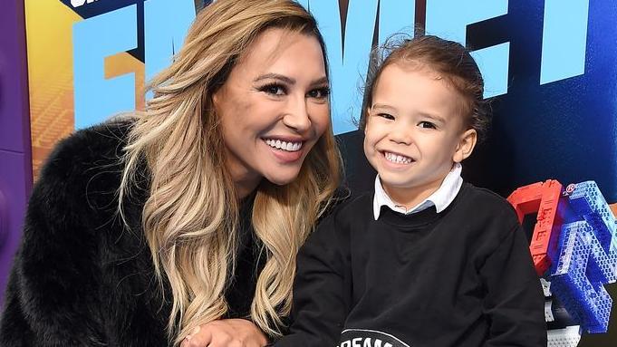 Naya Rivera und ihr Sohn Josey im Februar 2019