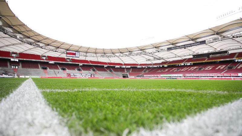 Auch in Stuttgart soll ein Heimspiel der DFB-Elf ausgetragen werden. Foto: Tom Weller/dpa-Pool/dpa