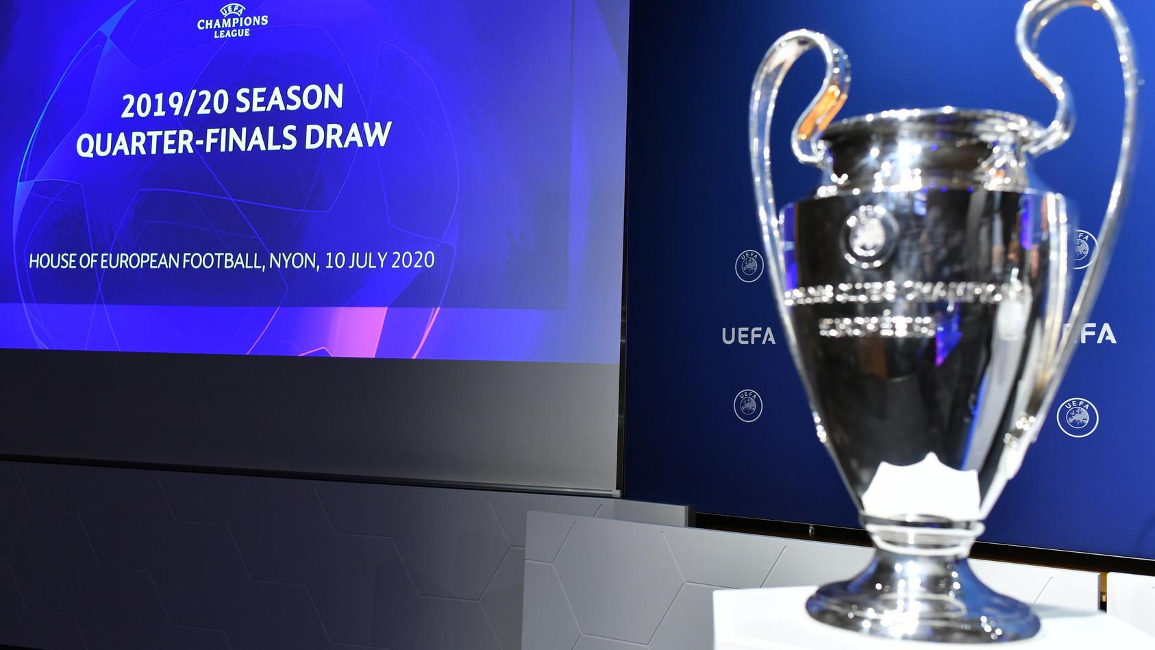 Champions League - Auslosung Final-Eight