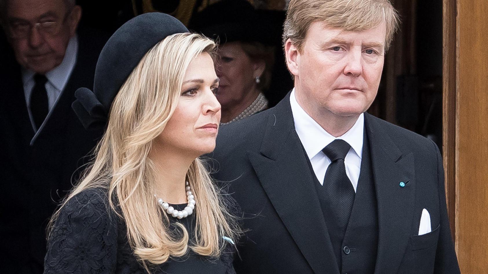 Königin Maxima und König Willem-Alexander sind geschockt!