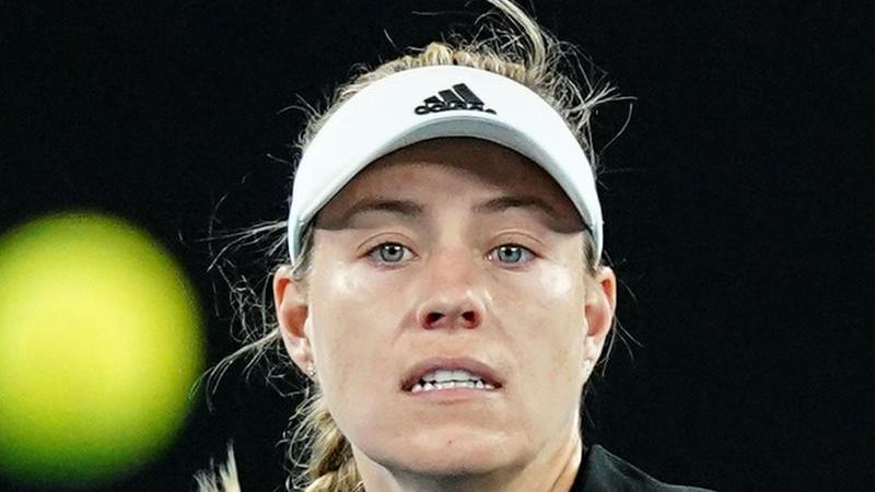 Angelique Kerber während eines Spiels in Aktion. Foto: Scott Barbour/AAP/dpa/Archivbild