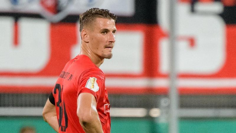 Kann im Rückspiel der Relegation für Ingolstadt auflaufen: Teamkapitän Stefan Kutschke. Foto: Matthias Balk/dpa