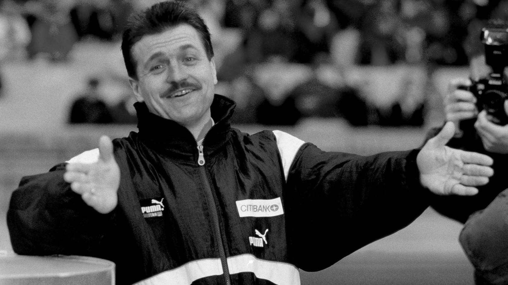 Trainer Wolfgang Jerat