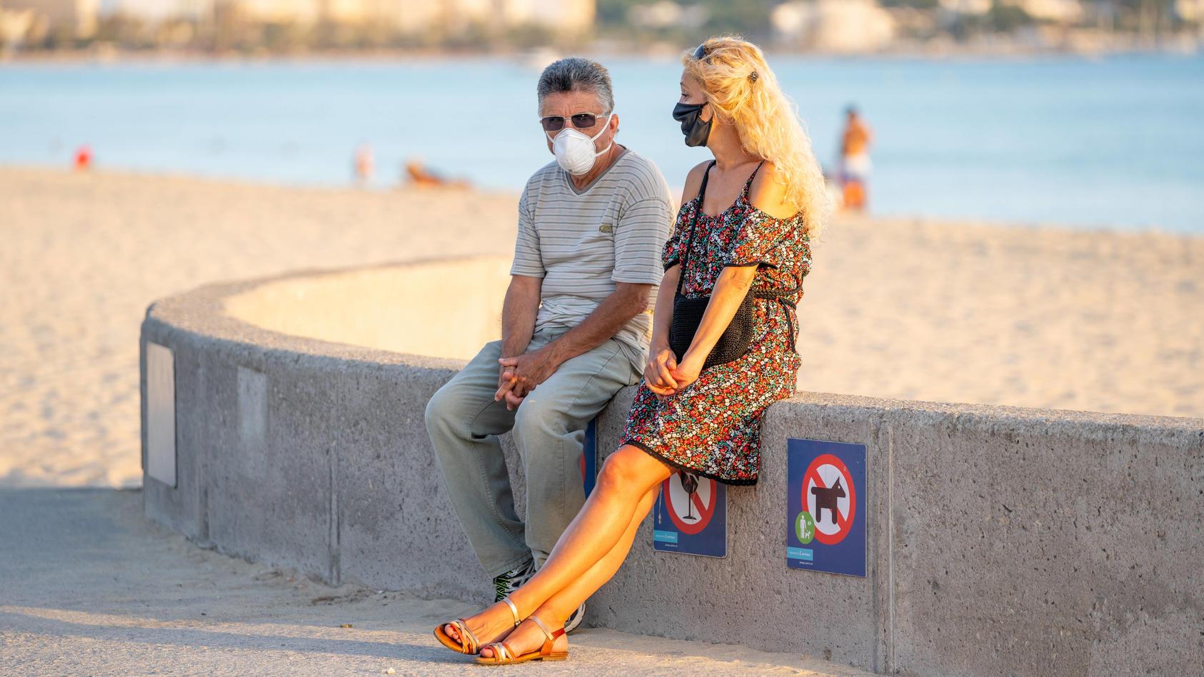 Mallorca und die anderen Balearischen Inseln Ibiza, Menorca, Formentera und Cabrera führen zum 12. Juli 2020 eine versch