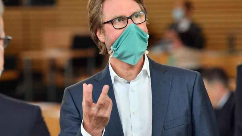 Dirk Adams (Grüne), Justizminister von Thüringen. Foto: Martin Schutt/dpa-Zentralbild/dpa/Archivbild
