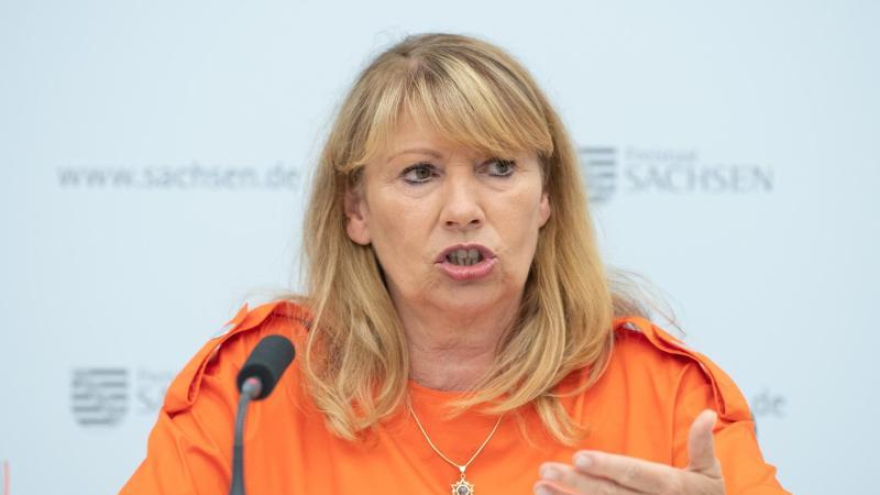 Petra Köpping (SPD), Sozialministerin von Sachsen. Foto: Sebastian Kahnert/dpa-Zentralbild/dpa/Archivbild
