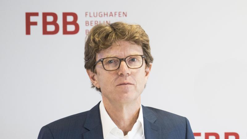 BER-Flughafenchef Engelbert Lütke Daldrup. Foto: Annette Riedl/dpa/Archivbild