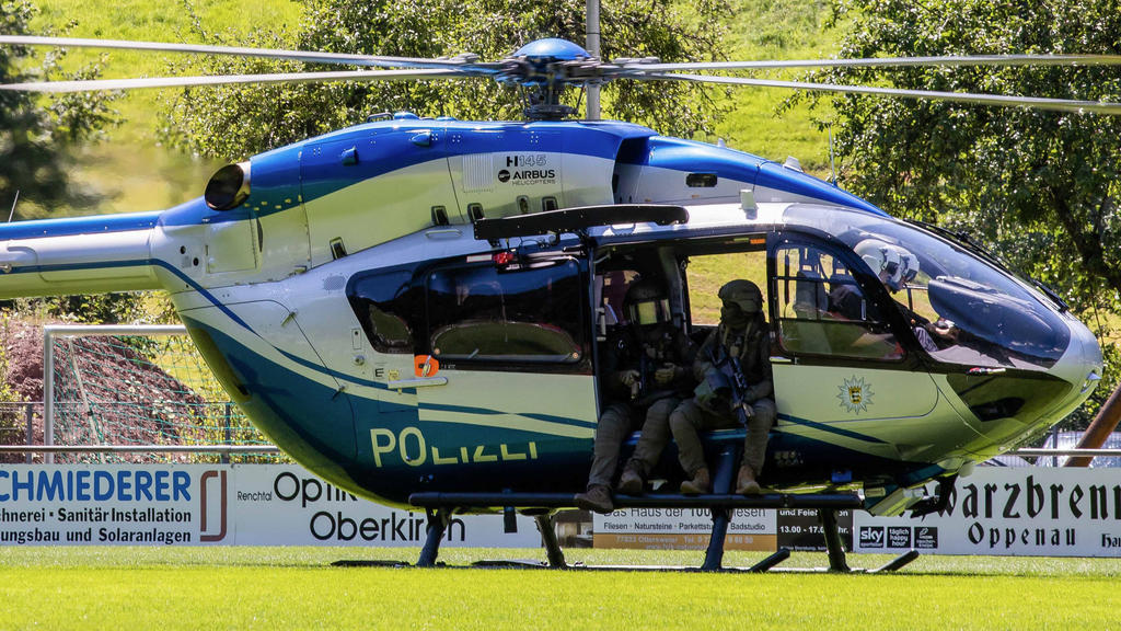 Yves Etienne Rausch wird unter anderem mit Helikoptern von der Polizei gesucht.