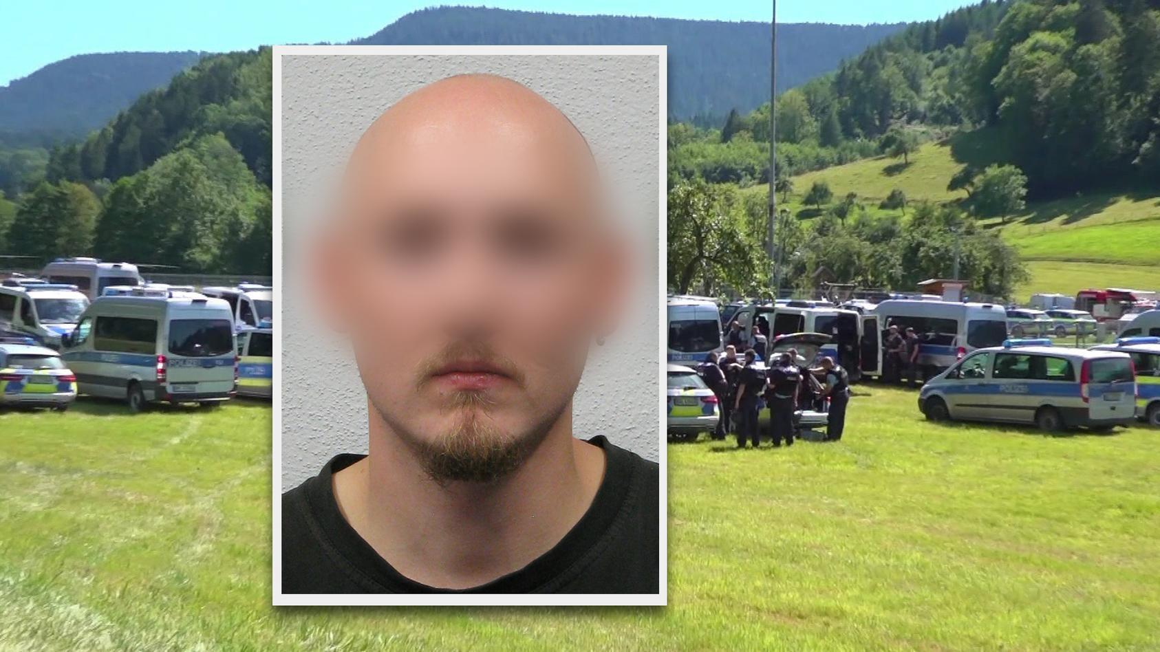 Schwarzwald-Rambo Yves R. entwaffnete vier Polizisten.