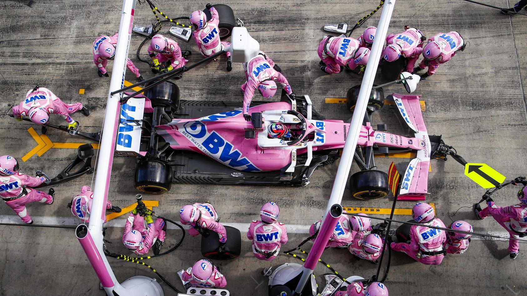 Motorsports: FIA Formula One World Championship, WM, Weltmeisterschaft 2020, Grand Prix of Styria, 11 Sergio Perez (MEX