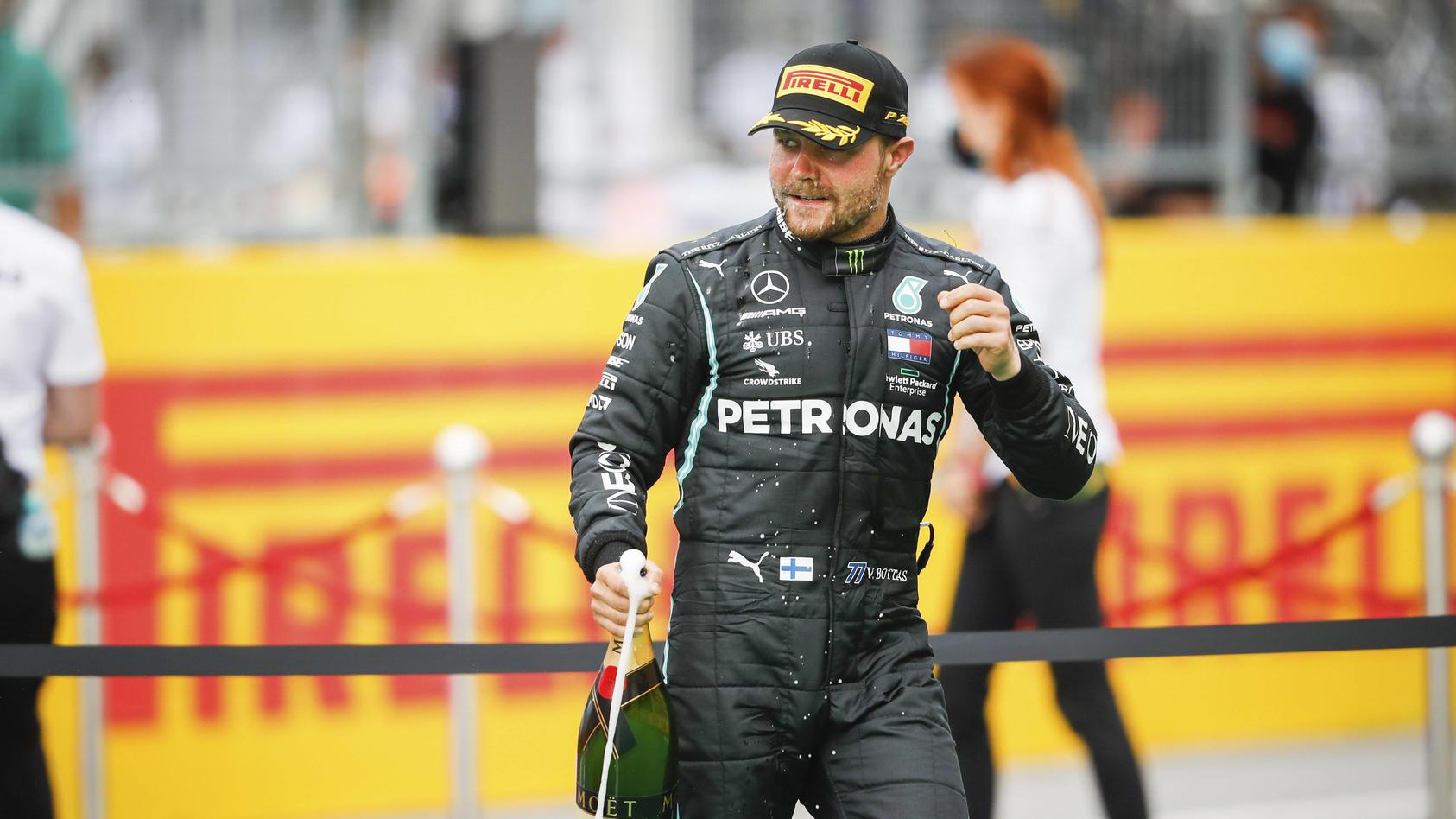 Motorsports: FIA Formula One World Championship, WM, Weltmeisterschaft 2020, Grand Prix of Styria, 77 Valtteri Bottas (