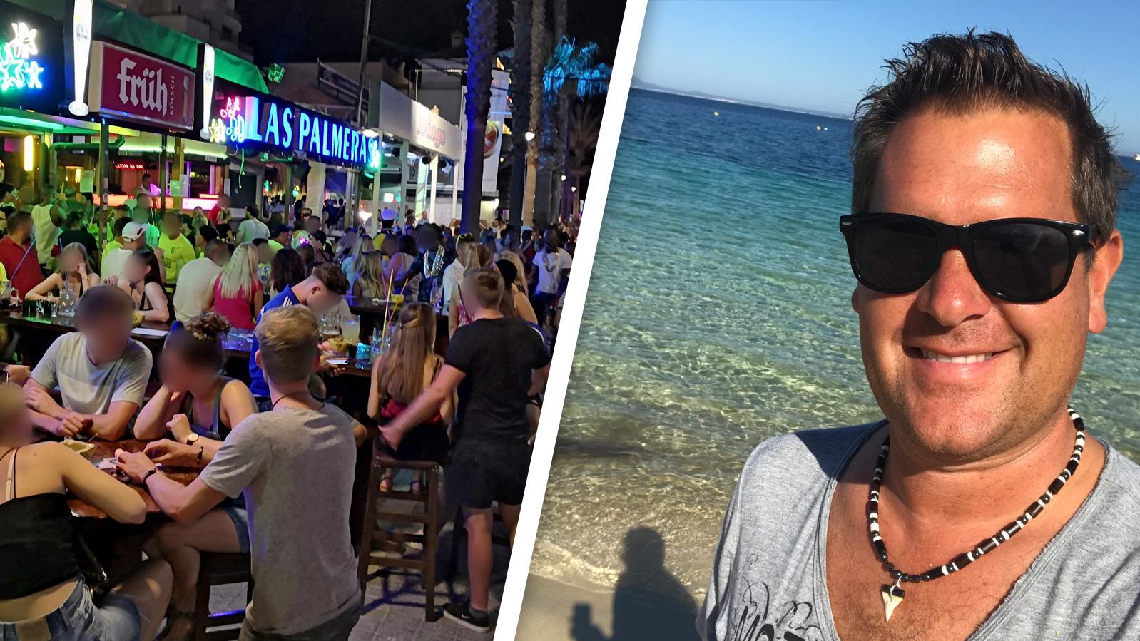 """Peter Wackel bezeichnet die Bilder überfüllter Touri-Hotspots als """"selten dummes Verhalten"""" Einzelner, die die Situation für die Menschen auf Mallorca noch schwieriger machen."""