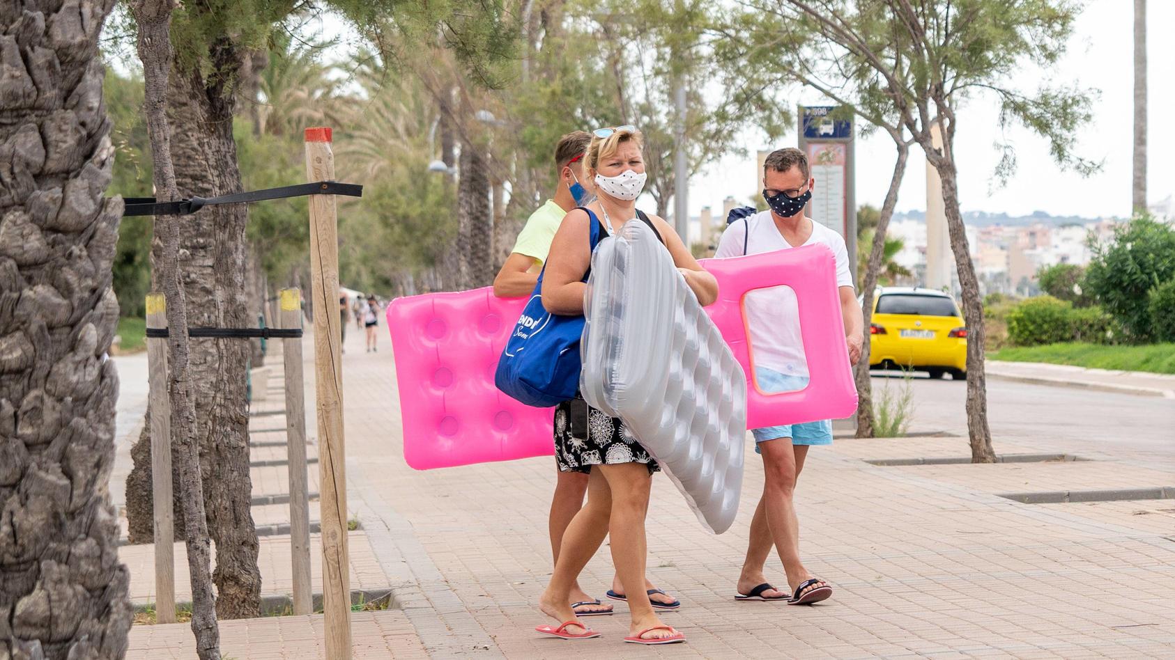 Welche Regelungen gibt es bezüglich einer Maskenpflicht auf den Balearen?