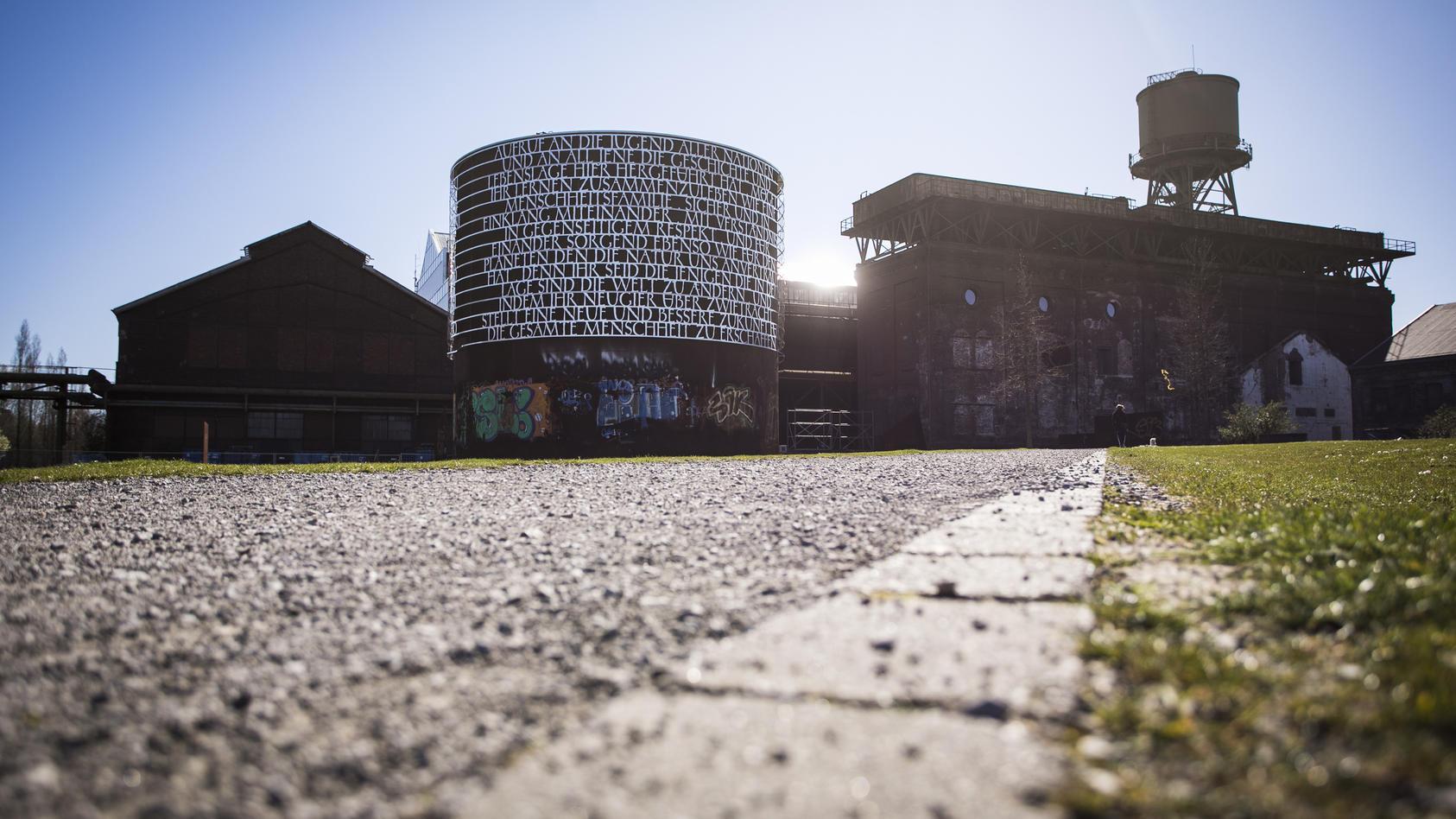 Der Bochumer Westpark rund um die Jahrhunderthalle.