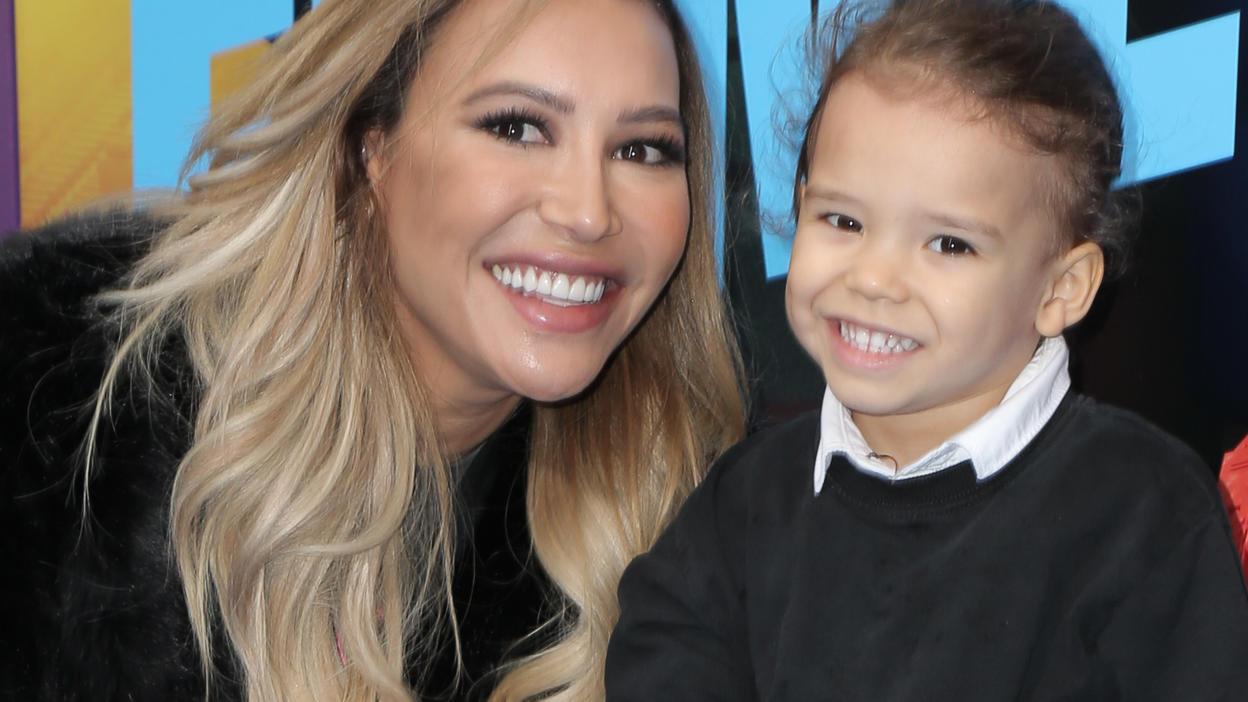 Naya Rivera mit ihrem Sohn Josey.