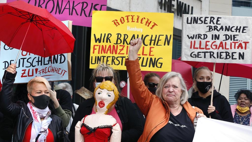 """Prostituierte warnen: """"Unsere Branche wird in die Illegalität getrieben!"""""""