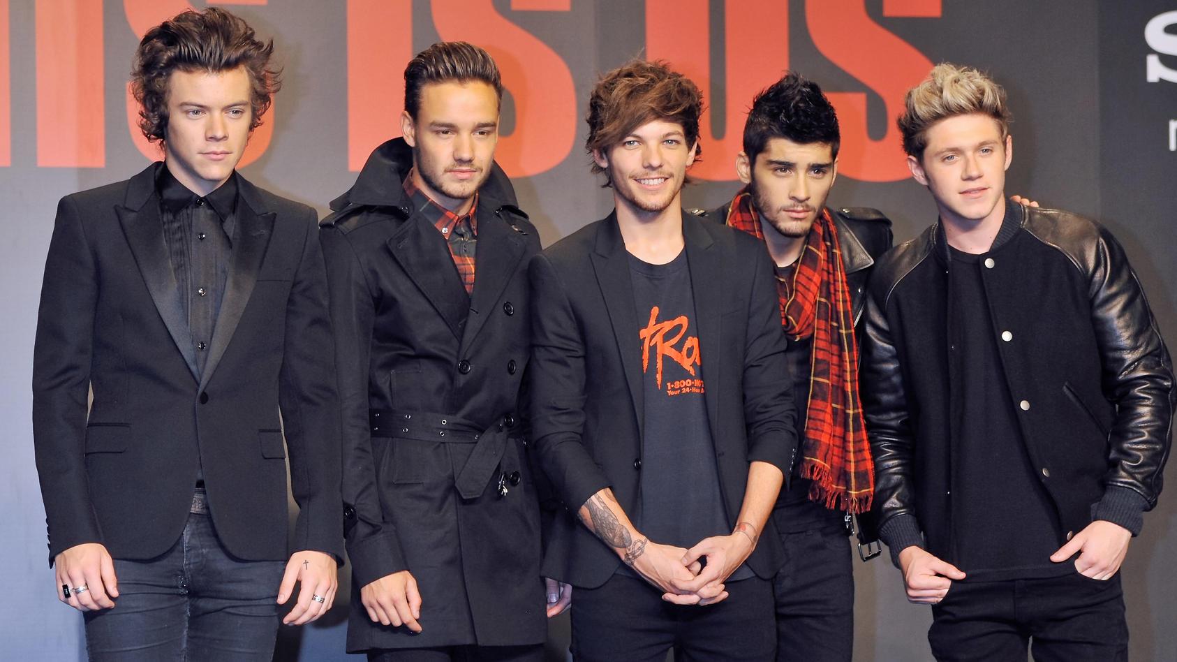 """One Direction"" feiern  10. Band-Jubiläum."