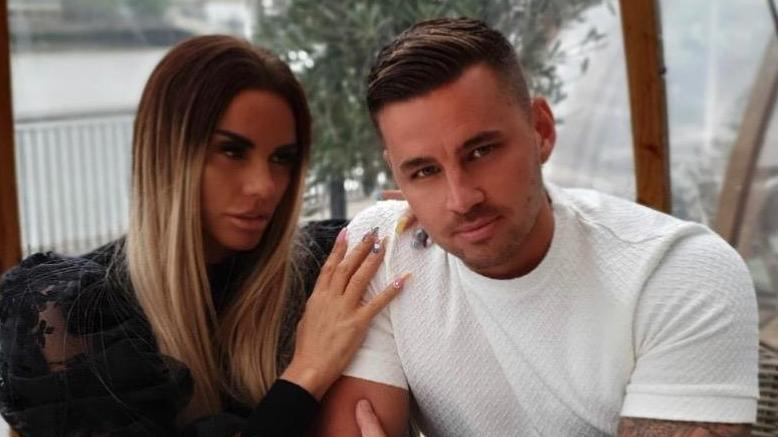 Katie Price mit Partner Carl Woods