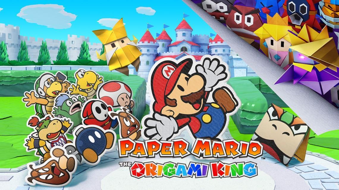 """""""Paper Mario: The Origami King"""" ist das neueste Spiel mit dem knuffigen Klempner."""